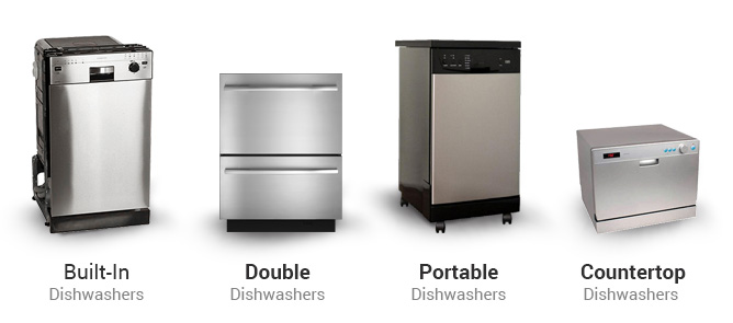 dishwasher-types