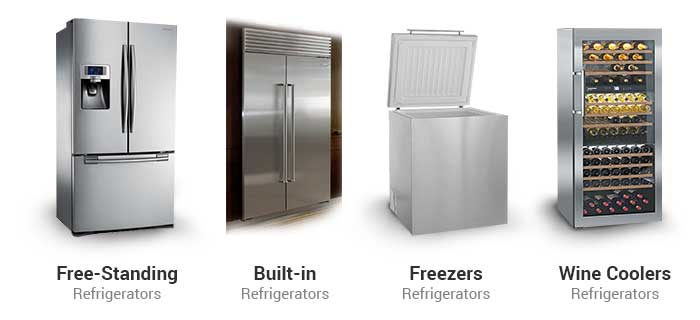 refrigerator-types