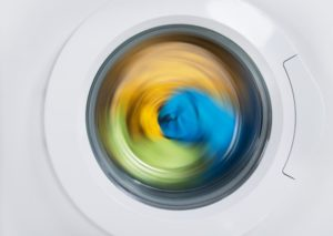 spinning washing machine