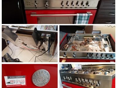 Bertazzoni Gas Range Repair
