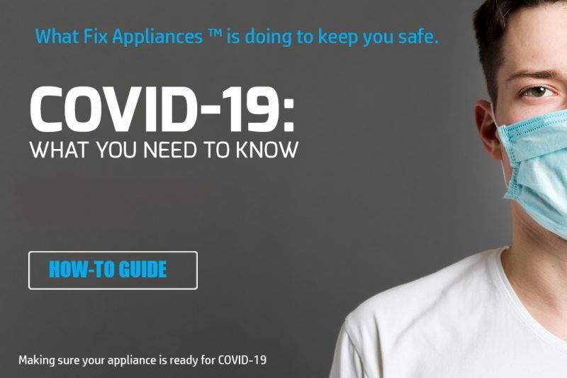 Making sure your appliance is ready for COVID-19