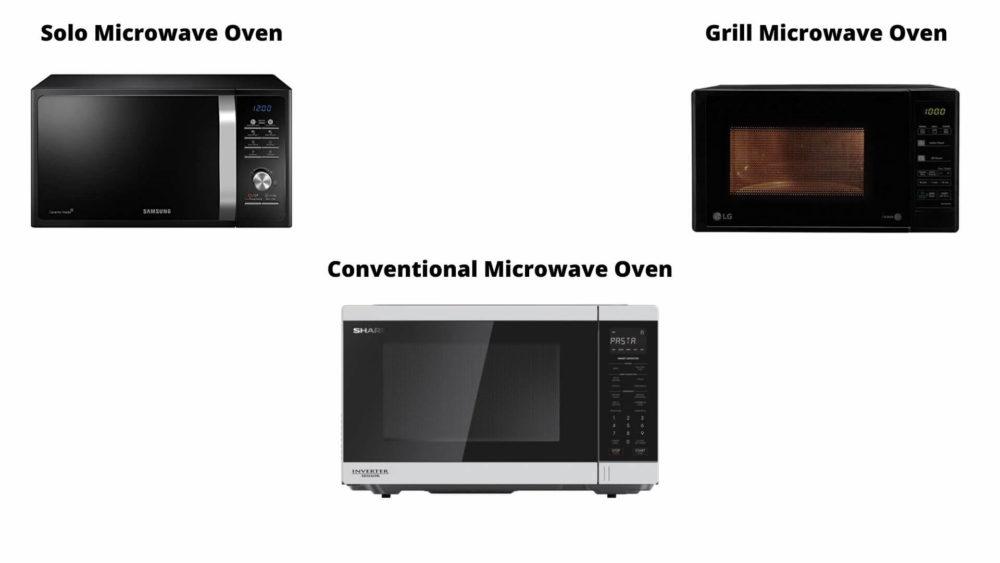 Types of Microwaves We Repair