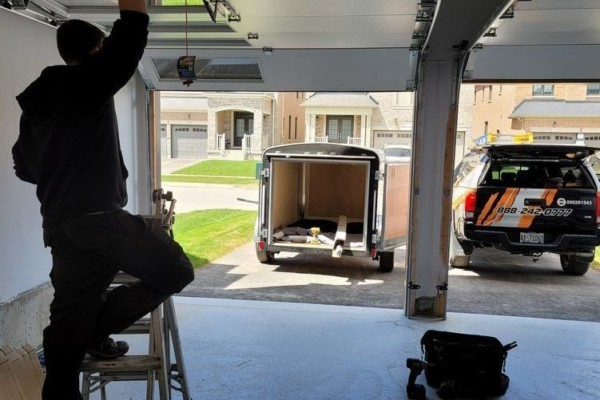 Garage Door Service Opening in the GTA Area